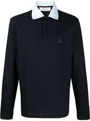Lanvin Logo Embroidered Polo Shirt 60