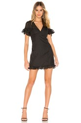 Bcbgeneration Fit Flare Mini Dress Black