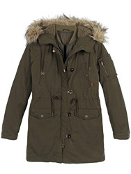 Fat Face Penrith Premium Parka Khaki