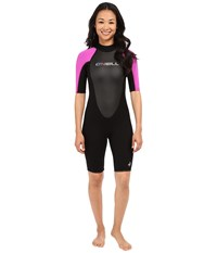 O'neill Reactor Spring Suit Black Berry Black Women's Wetsuits One Piece