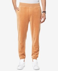 Sean John Men's Classic Fit Velour Travel Jogger Pants Lion
