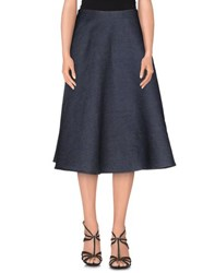 Roberto Collina Denim Denim Skirts Women Blue