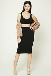 Forever 21 Bodycon Midi Skirt
