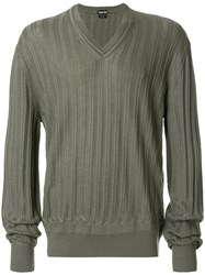 Tom Ford Cashmere Blend Sweater Green