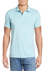 Men's Quiksilver 'Sun Cruise' Jersey Polo Tourmaline
