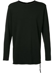 Ksubi Distressed Detail Sweatshirt Men Cotton Xl Black