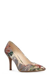 Nine West Women's Fifth Pointy Toe Pump Taupe Fabric