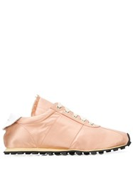 Marni Peach Pink Sneakers Neutrals