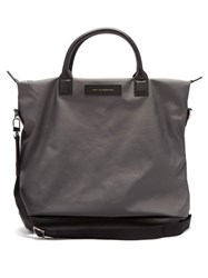 Want Les Essentiels O'hare Technical Fabric Tote Bag Grey
