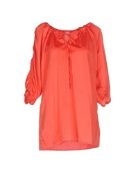 Femme By Michele Rossi Blouses Coral