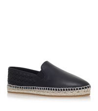 Bottega Veneta Interweave Espadrilles Female Black