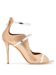 Malone Souliers Mika Leather Pumps Gold