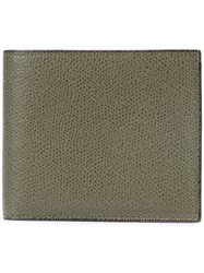 Valextra Fold Out Wallet Men Leather One Size Green