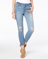 American Rag Juniors' Ripped Skinny Ankle Jeans Created For Macy's Atticus