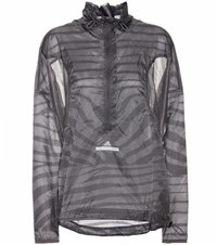 Adidas By Stella Mccartney Adz Pullon Jacket Grey