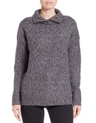French Connection Turtleneck Sweater Grey Melan