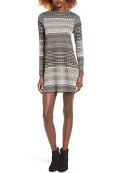 Fire Women's Stripe Sweater Dress