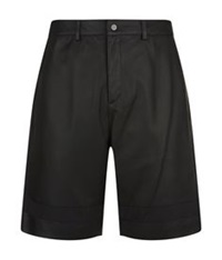 Alexander Wang Leather Shorts Black