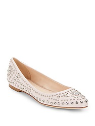 Versace Studded Leather Flats