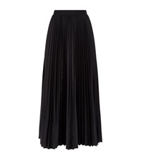 Theory Pleated Midi Skirt Female Black
