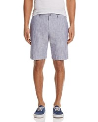 Bloomingdale's The Men's Store At Linen Cotton Shorts 100 Exclusive Navy