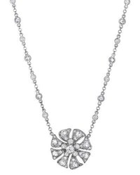 Maria Canale For Forevermark Aster Small Blossom Pendant Necklace With Diamonds
