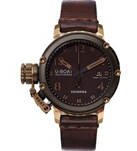 U Boat 7237 Chimera Bronze And Black 46 Limited Edition Watch