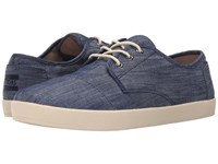 Toms Paseo Light Blue Chambray 2 Men's Lace Up Casual Shoes Navy