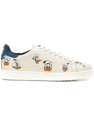Moa Master Of Arts Duffy Duck Sneakers Cotton Leather Rubber Nude Neutrals