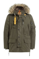 Parajumpers Kodiak Down Jacket With Fur Trimmed Hood Gr. S