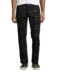 Penguin Ski Print Perfect Chino Pants True Black