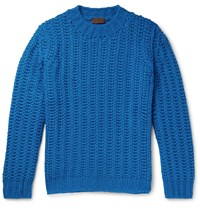 Altea Knitted Sweater Blue