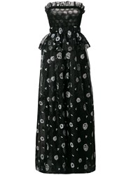Si Jay Strapless Ball Gown Black