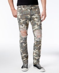Jaywalker Men's Camo Jeans