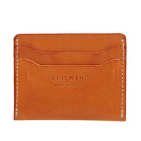 Red Wing Shoes Card Holder Brown