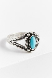 Urban Outfitters Kaia Delicate Stone Ring Turquoise