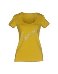 Fracomina Topwear T Shirts Women Yellow