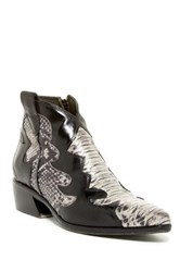 Jo Ghost Parma Doc Ankle Boot Black