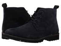 Kenneth Cole Lug Xury Navy Men's Lace Up Boots
