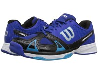 Wilson Rush Evo Blue Black Scuba Blue Men's Tennis Shoes