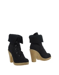 Colors Of California Ankle Boots Black