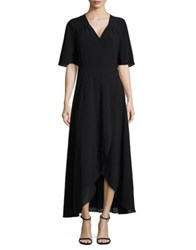 Imnyc Isaac Mizrahi Short Bell Sleeve Dress Black