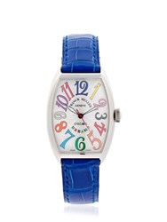 Franck Muller Curvex Sc Color Dream Automatic Watch Blue