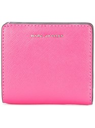 Marc Jacobs Bi Colour Open Face Billfold Wallet Pink Purple