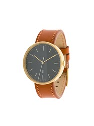 Uniform Wares M38 Date Watch Brown