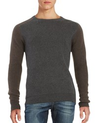 Strellson Knit Crewneck Sweater Dark Grey