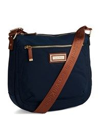 Calvin Klein Nylon Messenger Bag Navy