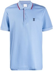 Burberry Logo Embroidered Polo Shirt 60