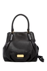 Marc By Marc Jacobs New Q Fran Leather Satchel Black