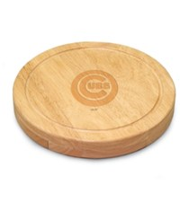 Picnic Time Chicago Cubs Circo Cutting Board Burlywood